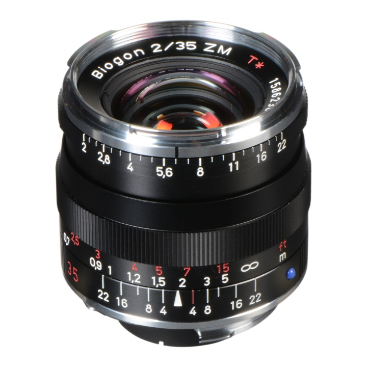 Zeiss Biogon 35mm f/2.0 ZM Black for Leica M-Mount