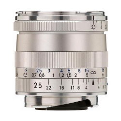Zeiss Biogon 25mm f/2.8 ZM Silver for Leica M-Mount