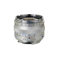 Zeiss C Sonnar T* 50mm f/1.5 ZM Silver for Leica M-Mount