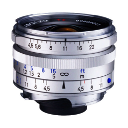 Zeiss C-Biogon 21mm f/4.5 ZM Silver for Leica M-Mount
