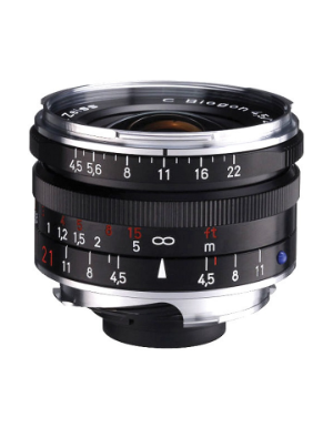Zeiss C-Biogon 21mm f/4.5 ZM Black for Leica M-Mount
