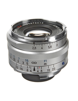 Zeiss C-Biogon 35mm f/2.8 ZM Silver Lens for Leica M-Mount