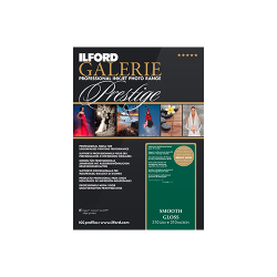 Ilford Galerie Prestige Smooth Gloss 310gsm A4 25 Sheets GPSGP