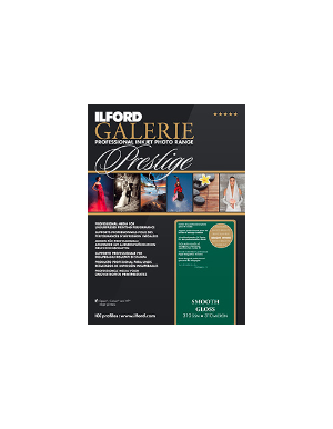 Ilford Galerie Prestige Smooth Gloss 310gsm A2 25 Sheets GPSGP