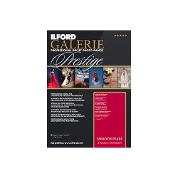 "Ilford Galerie Prestige Smooth Pearl 310gsm 5x7"" (12.7x17.8cm) 100 Sheets GPSPP"