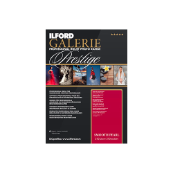 "Ilford Galerie Prestige Smooth Pearl 310gsm 13x19"" 32.9x48.3cm A3+ 25 SheetsGPSPP"