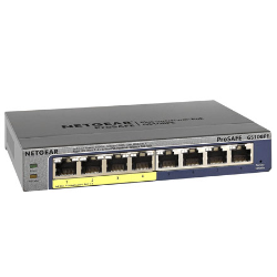 NETGEAR GS108PE 8 PORT GIG