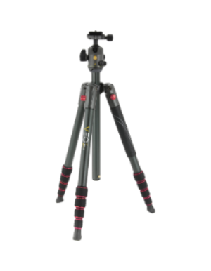Vanguard Veo 2 235AB Tripod with Ballhead (Red)
