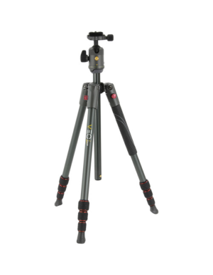 Vanguard Veo 2 204AB Tripod with Ballhead (Red)