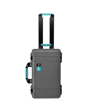 HPRC 2550W Wheeled Hard Case for Matterport Pro2 Camera - Grey / Turquoise